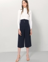 High Waisted Crepe Culottes