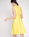 A-Line Dress With Pleated Detail
