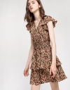 Printed Dress With Smocking Detail