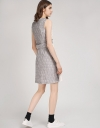 Color Block Jacquard Shift Dress