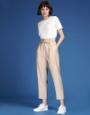 Tied Pleated Pants