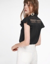 Sleeved Blouse With Embroidered Detail