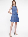 Checked Dress With Pockets