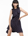 Checked Dress With Asymmetric Hem