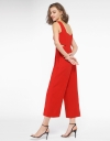Wide-Leg Jumpsuit With Cut-Out Detail