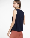 Layered Blouse With Asymmetric Hem