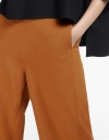 Wide-Leg Pants With Pockets
