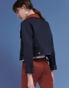 Sleeved Jacket With Pockets