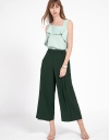 Mid-Rise Straight-Leg Pants