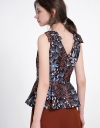 Floral Printed A-Line Top