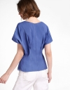 Puff Sleeved V-Neck Top