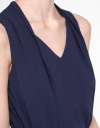 Sleeveless Top With Tied Waist