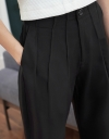 Pleated Pants With Pockets
