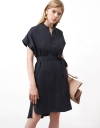 Relaxed Dropped Shoulder Shirt Dress