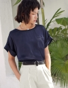 Sleeved Relaxed Top