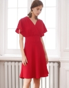 Dress With Wrap Front
