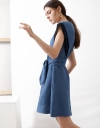 A-Line Dress With Contrast Panels