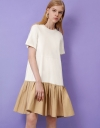 Relaxed Gather Dress