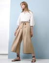 Tied Front Culottes