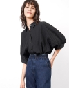Oversized Drape Shirt