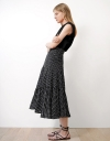 Tier Flared Skirt