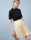 Pleated Shorts With Pockets