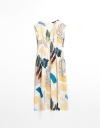LIMITED EDITION Abstract Midi Dress