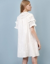 LIMITED EDITION Ruffled Embroidery Dress