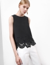 LIMITED EDITION Sleeveless Laser Cut Top