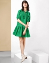LIMITED EDITION Lace Gather Collar Dress