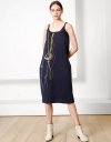 LIMITED EDITION Sculpted Embroidered Slip Dress