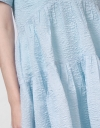 LIMITED EDITION Crinkled Textural Volume Dress