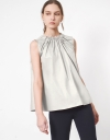 Ruched Neckline Top
