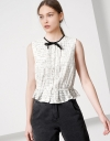 Convertible Crop Top with Ribbon