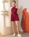 Knot Front Romper