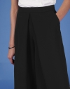 Wide Leg Culottes with Front Pleat