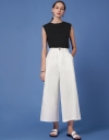 Inverted Pleat Front Trousers