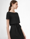 Layer Dress with Belt