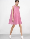Flare Dress with Round Neck