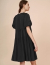 Tier Dress with Sleeves