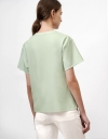 Drape Top with Placement Print