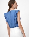 Top with Ruffles Details