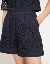 Embroidery Cotton Shorts